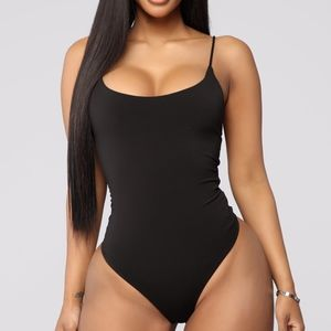 Forever Together Bodysuit - Black